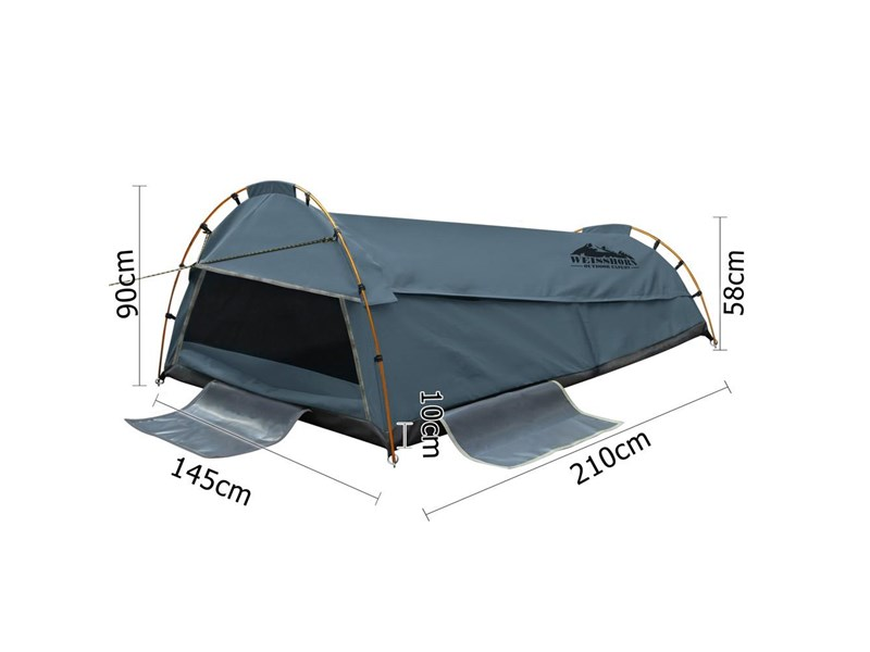 weisshorn double canvas swag tent 396024 009