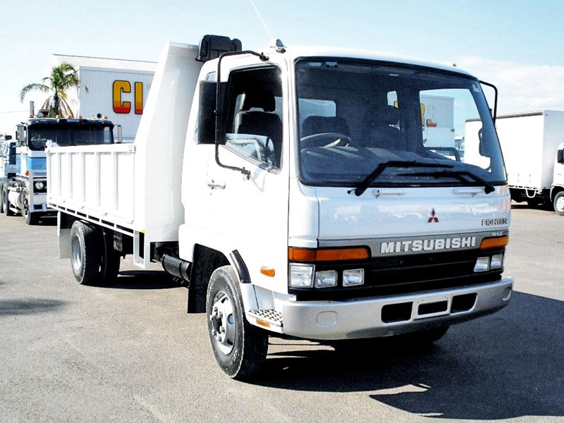 MITSUBISHI FK617 TIPPER for sale
