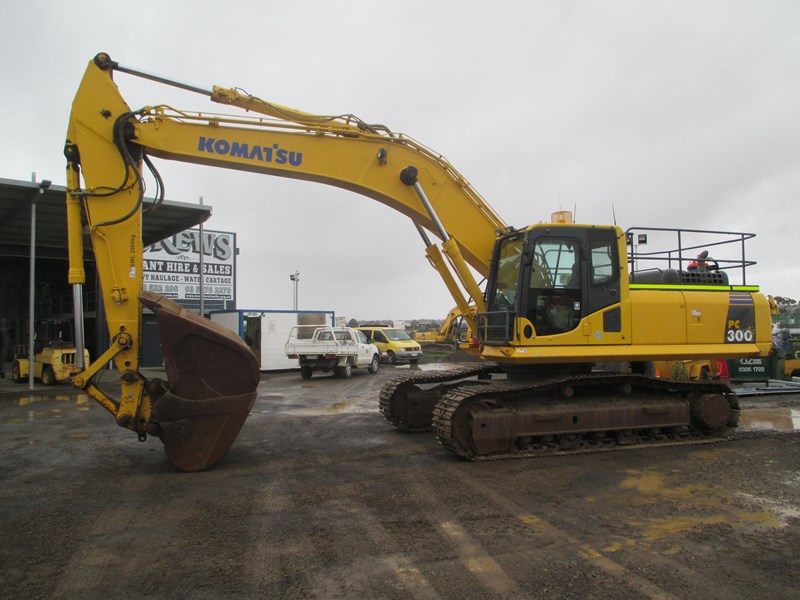 komatsu pc300-8 (also available for hire) 396289 007