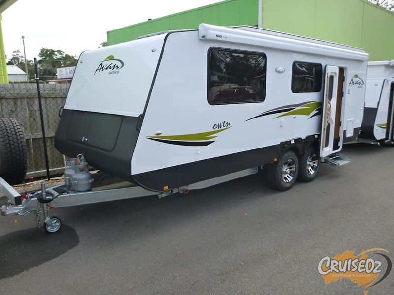 avan caravan owen 609 ht - ensuite model 397330 002