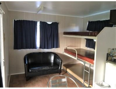 cabin portable cabins -   6m x 3m. 1 bedroom / bunkroom / kitchen / dining /annex. 397524 006