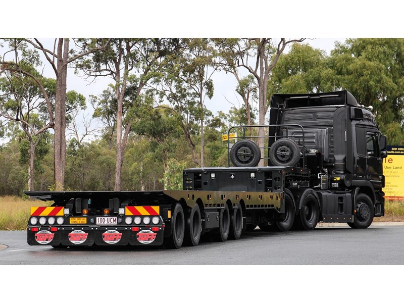 tuff trailers 3x4 or 4x4 drop deck / fixed width or deck widening / tilt 'n' slide - super tilt 398286 007