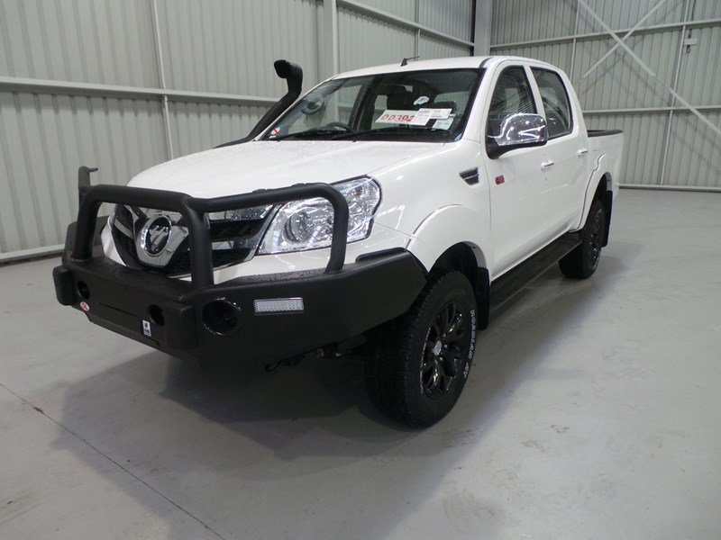 foton dual cab 4x4 ute (bigfoot pack) 398746 001