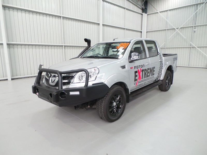 foton dual cab 4x4 ute (extreme pack) 398883 001