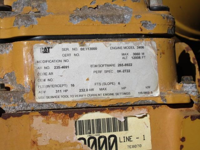 caterpillar 980g series ii 399220 009