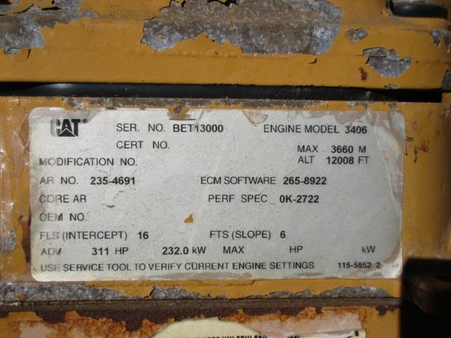 caterpillar 980g series ii 399220 010