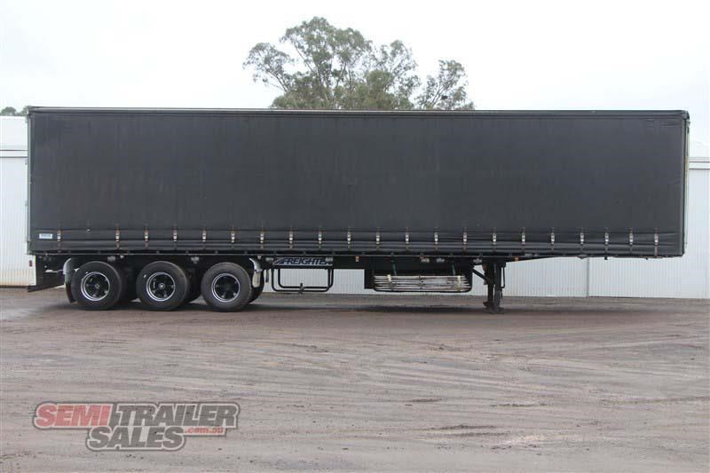 maxitrans 45ft curtainsider road train rated semi trailer 404328 001