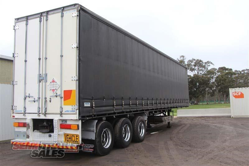 maxitrans 45ft curtainsider road train rated semi trailer 404328 003