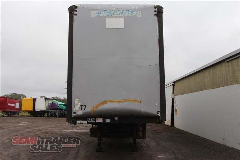 maxitrans 45ft curtainsider road train rated semi trailer 404328 004