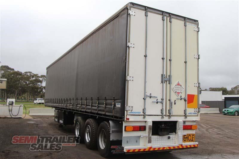 maxitrans 45ft curtainsider road train rated semi trailer 404328 015