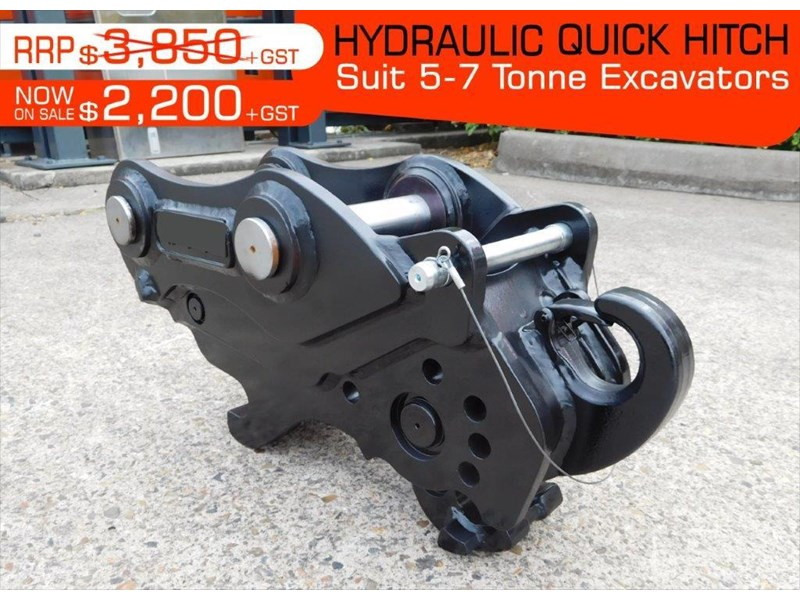 various heavy duty hydraulic quick hitches suits 5 to 7t kubota excavators 398980 002