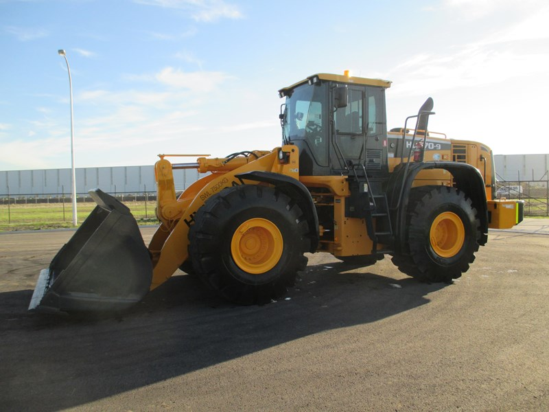 hyundai hl770-9 (also available for hire) 407765 013