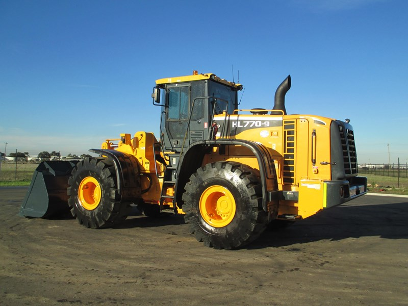 hyundai hl770-9 (also available for hire) 407765 006