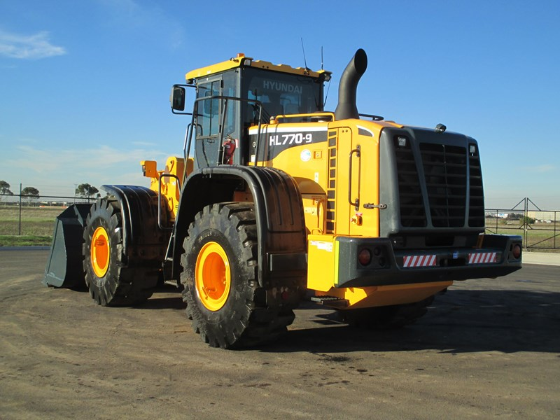 hyundai hl770-9 (also available for hire) 407765 008