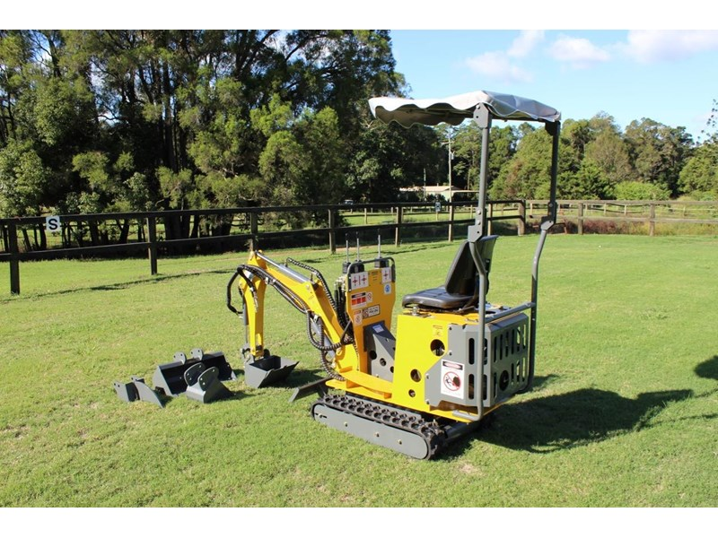 ozziquip mini digger tiger 407811 003