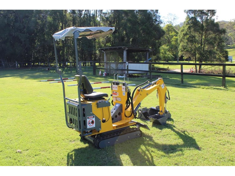 ozziquip mini digger tiger 407811 004