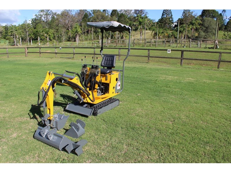 ozziquip mini digger tiger 407811 009