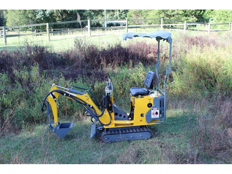 ozziquip mini digger tiger 407811 011