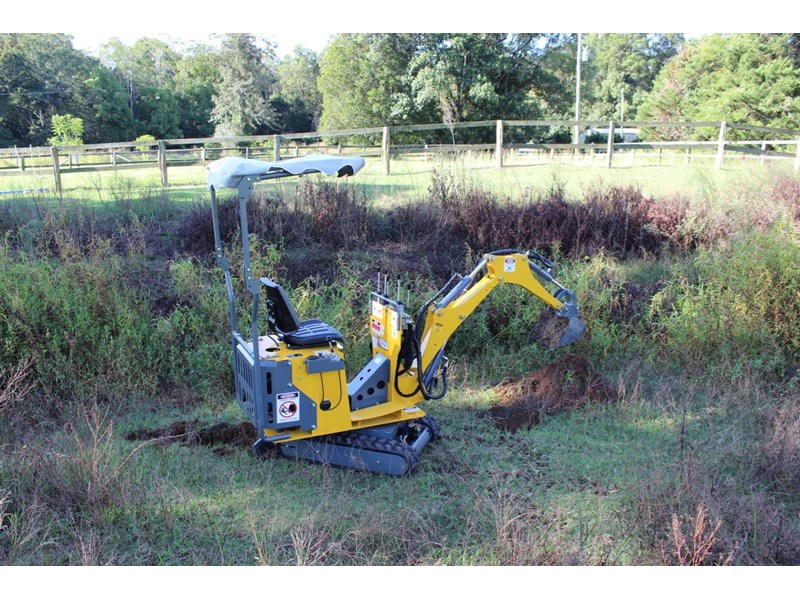 ozziquip mini digger tiger 407811 012
