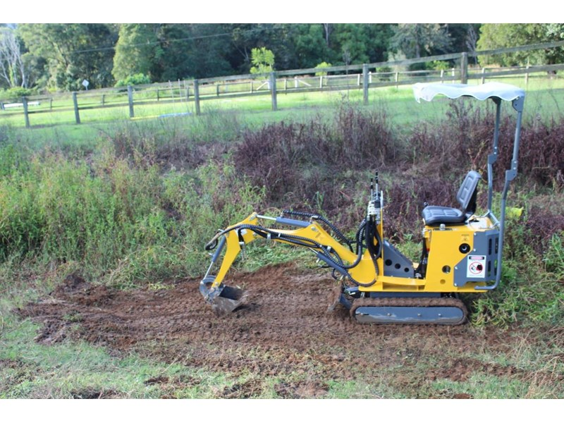ozziquip mini digger tiger 407811 018