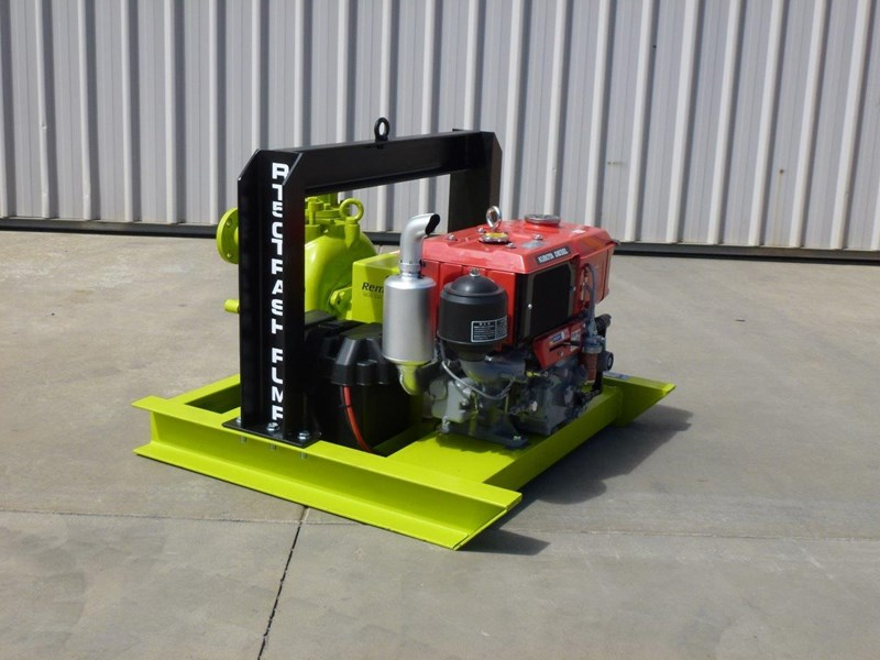 remko rt-050 compact dewatering pump package 408305 002