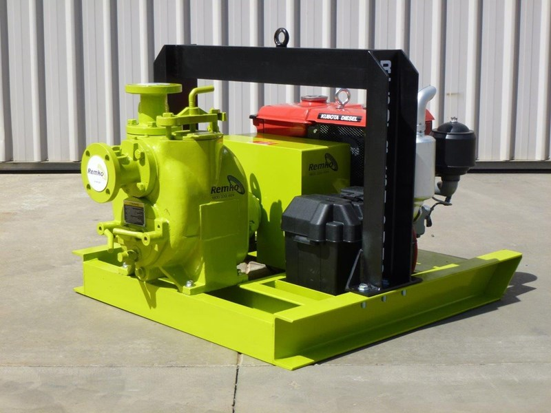 remko rt-050 compact dewatering pump package 408305 001