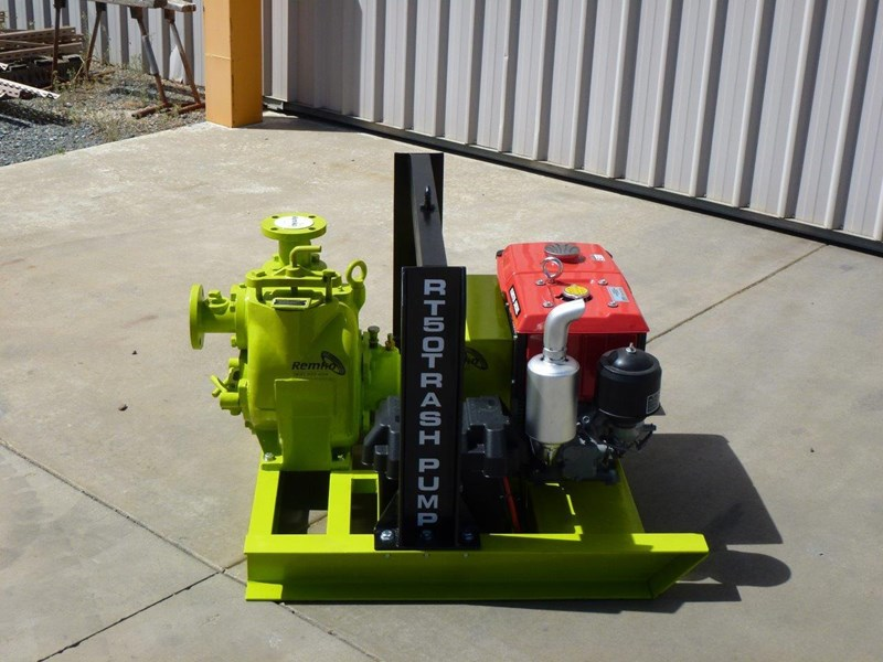 remko rt-050 compact dewatering pump package 408305 011