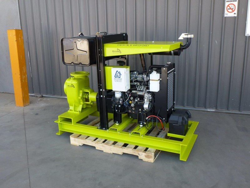 "remko remko rs-150 (6"") self-priming diesel driven pump package 408340 002"