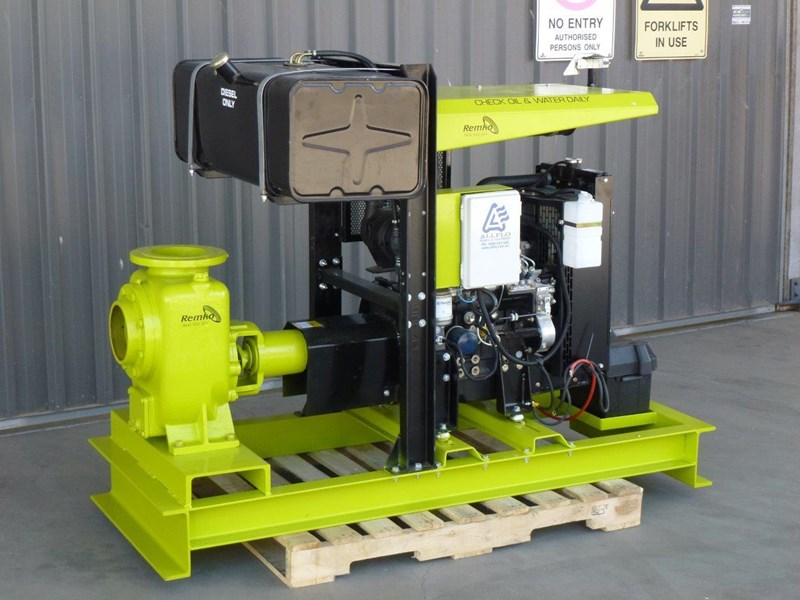 "remko remko rs-150 (6"") self-priming diesel driven pump package 408340 005"