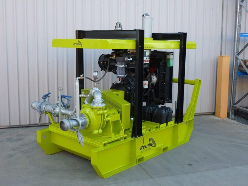 remko heavy duty diesel driven sand/sludge/slurry pump package 408395 004