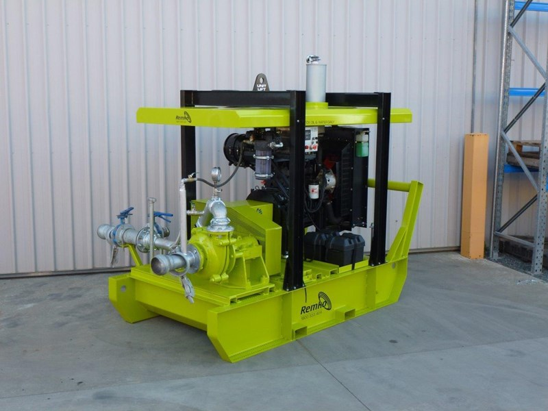 remko heavy duty diesel driven sand/sludge/slurry pump package 408395 009
