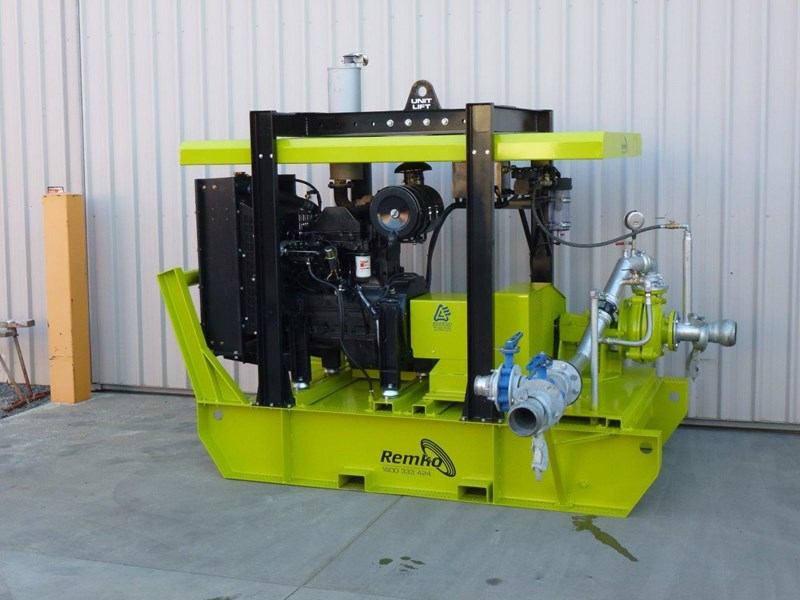 remko heavy duty diesel driven sand/sludge/slurry pump package 408395 026