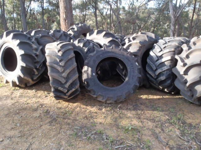 various forestry agricultural tyres incl goodyear olympic gripster 409142 001