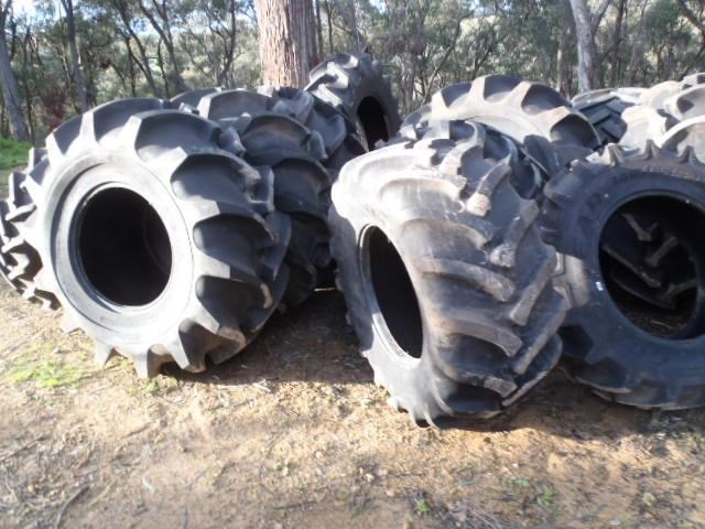 various forestry agricultural tyres incl goodyear olympic gripster 409142 002