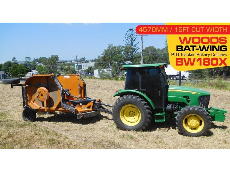 woods equipment woods 15ft / 4571mm pto tractor rotary cutters [bw180x] [attpto] 331877 002