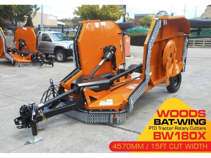 woods equipment woods 15ft / 4571mm pto tractor rotary cutters [bw180x] [attpto] 331877 004
