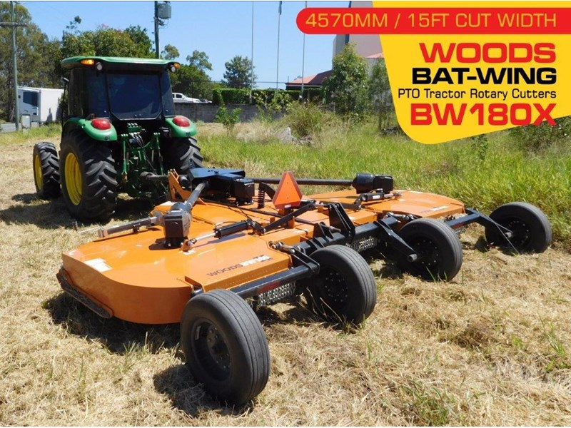woods equipment bw180x woods pto tractor rotary cutters [cut width 4571mm / 15ft ] [attpto] 335095 002