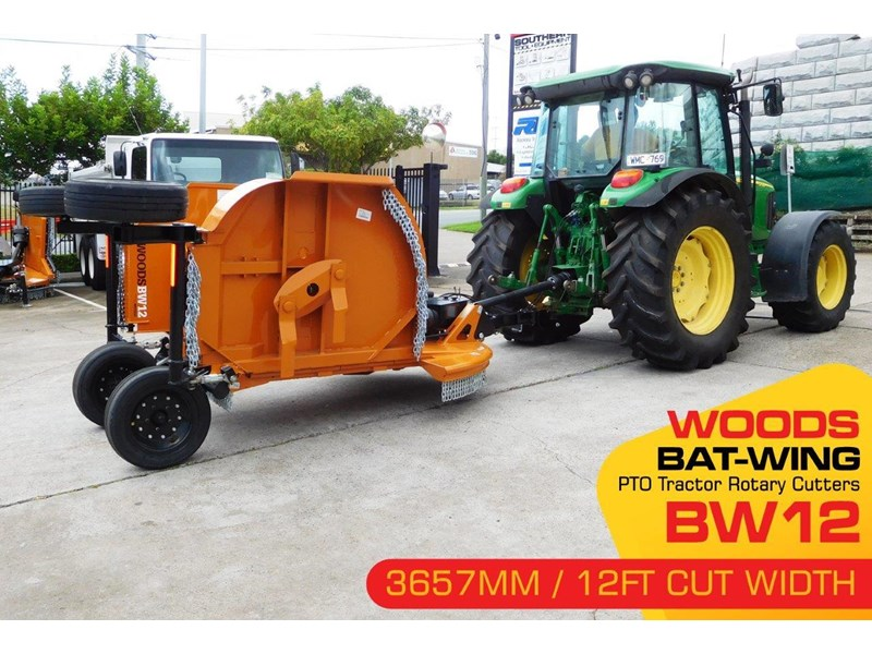 woods equipment bw12 woods pto tractor 12ft / 3657mm rotary cutters [attpto] 334426 002