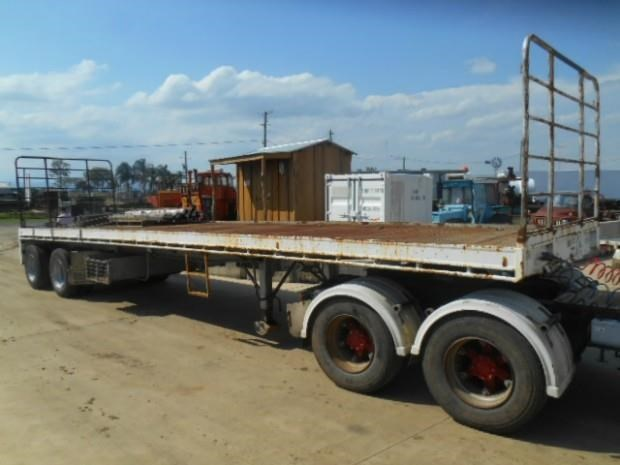 fruehauf semi flat top trailer 344459 004
