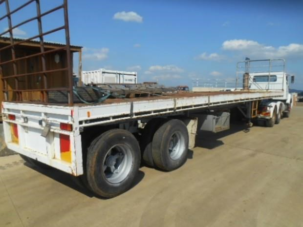 fruehauf semi flat top trailer 344459 007