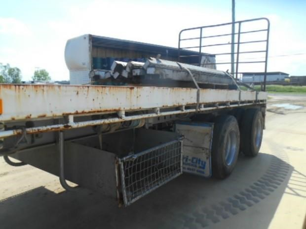 fruehauf semi flat top trailer 344459 012