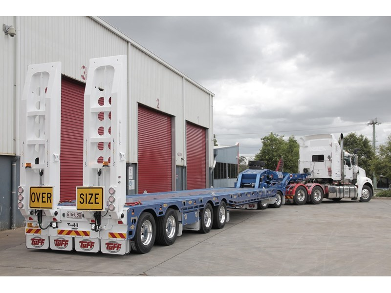 tuff trailers 4x4 low loader / deck widening 398471 001
