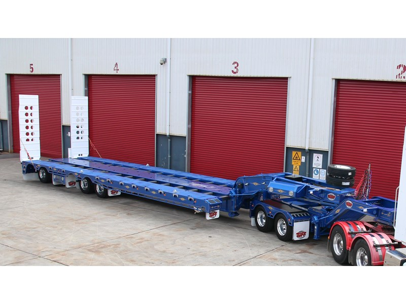 tuff trailers 4x4 low loader / deck widening 398471 002