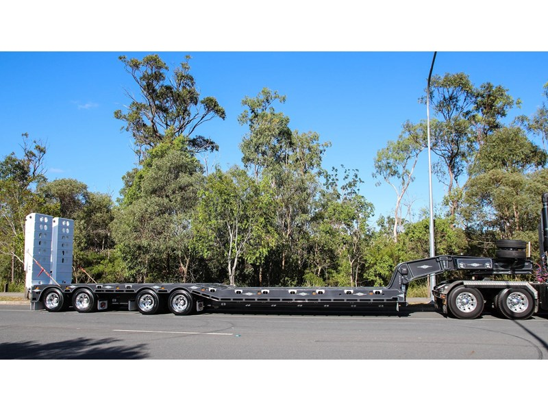 tuff trailers 4x4 low loader / deck widening 398471 006