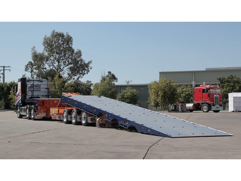 tuff trailers 3x4 or 4x4 drop deck / fixed width or deck widening / tilt 'n' slide - super tilt 398286 011