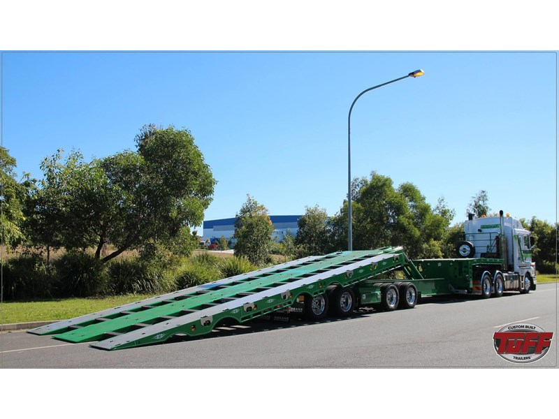 tuff trailers 3x4 or 4x4 drop deck / fixed width or deck widening / tilt 'n' slide - super tilt 398286 016