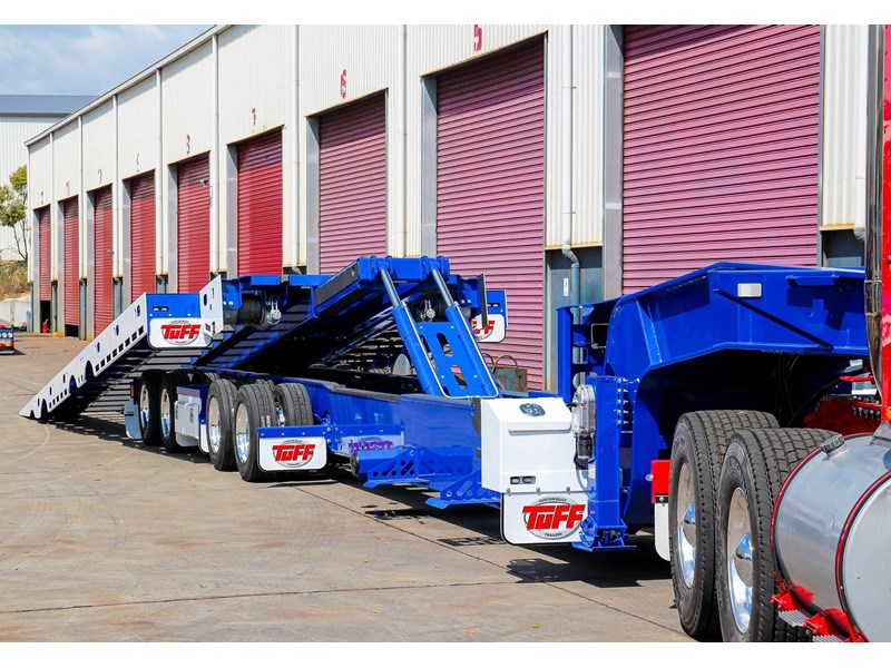 tuff trailers 3x4 or 4x4 drop deck / fixed width or deck widening / tilt 'n' slide - super tilt 398286 018