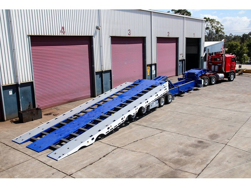 tuff trailers 3x4 or 4x4 drop deck / fixed width or deck widening / tilt 'n' slide - super tilt 398286 002