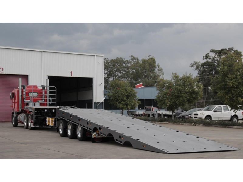 tuff trailers 3x4 or 4x4 drop deck / fixed width or deck widening / tilt 'n' slide - super tilt 398286 004
