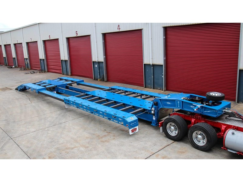tuff trailers 3x4 or 4x4 drop deck/ low loader / deck widening float / 4.5m ag widening trailer 398283 014